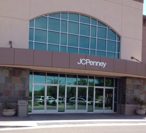 JC Penney Storefrong